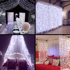 8ft Christmas Tree Ebay by 9 8ftx9 8ft 300 Led X Mas Wedding Party String Fairy Curtain