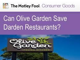 Can Olive Garden Save Darden Restaurants