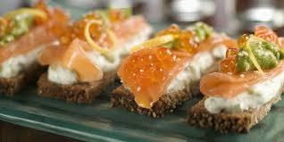 recette canape canapés au saumon fumé et mascarpone recettes femme actuelle