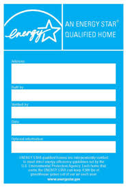 Guidance On Labeling ENERGY STAR Certified Homes