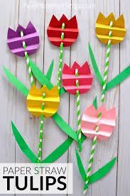 A Great Spring Craft For Elementary Kids