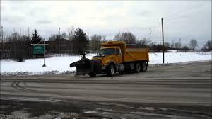 DOT Salt Trucks Heading Out - YouTube Detroit Hiring Dozens Of Salt Truck Drivers Dicer Salt Spreaders East Penn Carrier Wrecker Garching Germany Small Truck At Work On Wintertime Editorial Lansing Hits Overpass Spills On Road Gps Devices Added To The Arsenal Snowfighting Equipment I See They Wont Make Same Mistake Twice Nyc 2009 Freightliner Dump Truck With Swenson Salt Spreader Eastern Surplus Food The Dirty Ice Cream Blog Driver Snow And Treatment Springfield Township Oh Official Website