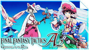 Final Fantasy Theatrhythm Curtain Call Cia by Final Fantasy Tactics A2 Grimoire Of The Rift Nds Rom Usa