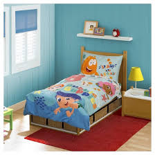 bubble guppies 4 pc toddler bed set multi colored target