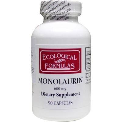 Ecological Formulas Monolaurin - 600mg, 90 Capsules