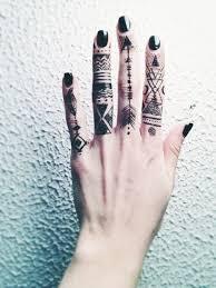 Hand Tattoo Ideas 1