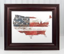 American Flag Home Decor By Popperandmimi That Will Brighten Up Any Space And Add A