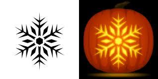 Ariel On Rock Pumpkin Carving Pattern by Snowflake Pumpkin Carving Stencil Free Pdf Pattern To Download