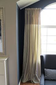 Curved Curtain Rod For Arched Window Treatments by Endearing Arched Window Curtains And Curtains Curtain Rods For