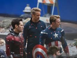 Avengers 4 Set Photos Captain America Iron Man And Ant