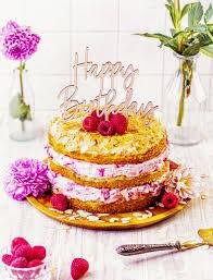 himbeer quark cake
