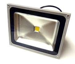 1 x 50 watt 50w led smd floodlight in warm white 500 watt