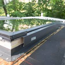 how to install skylights in a shed