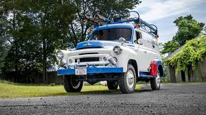 100 1957 International Truck We Ride In An S120 Civil Defense Truck Autoweek