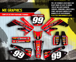 kit deco crf 250 crf250r graphics kit ebay