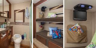 2015 Greyhawk Class C Motorhomes Jayco Inc As Well Stunning Bunk Beds