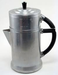 Wear Ever Aluminum Drip Coffee Pot This Is What I Made In For Daddy Heat Water And Pour Top Wait To Thru Grounds