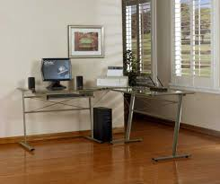 Bush Cabot L Shaped Computer Desk by Contemporary L Shaped Glass Desk Making Cover L Shaped Glass
