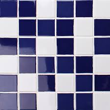classic cobalt blue and white bck004 mosaic tile ceramic mosaic