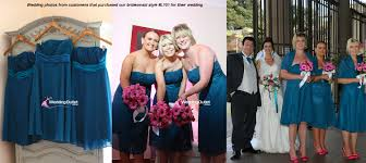 cornflower blue bridesmaid dress short style l101 weddingoutlet
