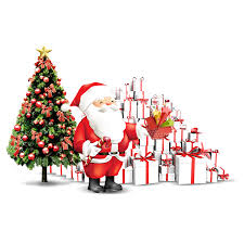 Santa Claus Christmas Tree Adobe Illustrator Christmas 12001200
