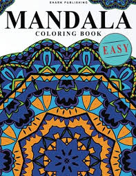 Easy You Simply Klick Mandala Coloring Book EASY Stress Relieving Patterns Colorama Books For Adults Relaxation