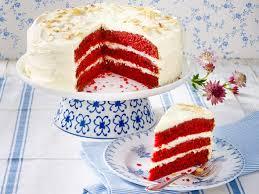 velvet cake backen so geht s lecker