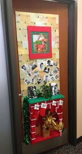 Unique Christmas Office Door Decorating Idea by Backyards Christmas Office Door Decoration Therapist Holiday