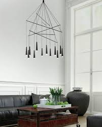 large chandelier chrome for hotel intended