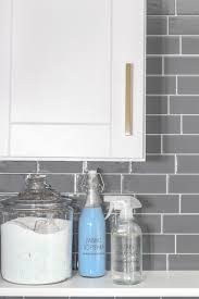 Move Over Subway Tile The Old World Material Making A Comeback by Laundry Room Refresh With Peel And Stick Backsplash Wall Tile
