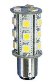 12 volt led bulb 10 30vdc ba15d bayonet base 266 lumens