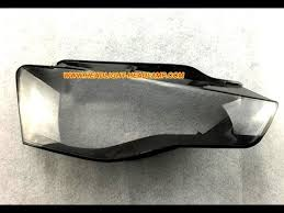 audi a5 s5 rs5 headlight lens cover cracked scratched replacement
