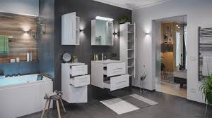 badmöbel set firenze 60 5 tlg c inkl spiegelschrank weiß hochglanz