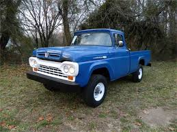 Large Photo Of '60 F100 - MH03 | Ford Trucks | Pinterest | Large ... Ford To Cut F150 And Large Suv Production Increase For Small 2018 Toyota Sequoia Tundra Fullsize Pickup Truck Trd 2016 Gmc Pickups A Size Every Need Chicago Car Guy Used Cars Trucks Glendive Sales Corp Whosale Dealer Mt 2007 Nissan D22 25 Di 4x4 Single Cab Pick Up Truck Amazing Runner 2012 F450 Dump Together With Insert For Sale The 1993 Silverado Is Large Pickup Truck Manufactured By Brabus G500 Xxl Is Very Wide Cool Offroad Full Traing Highly Raised Debary Miami Orlando Florida Panama Startech Range Rover Filled With Tires Driving On The Freeway