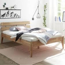 details zu holzbett 140x200 cm bett eiche massivholz geölt bett schlafzimmer elke