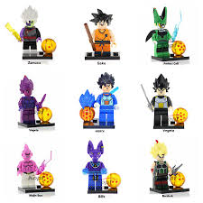 Dragon Ball Z Goku Minifigure Vegeta Rare Edition For Custom Lego Minifigures