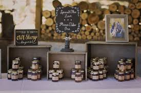 Rustic Jam Jelly Jar Favors