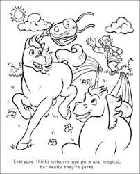 Unicorns Are Jerks Coloring Book By Theo Nicole Lorenz