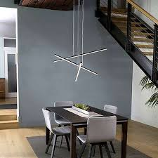 stix 3 arm led pendant light innenarchitektur modernes
