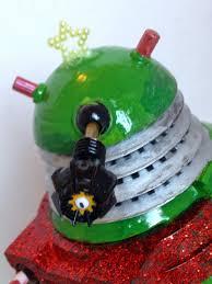 Dr Who Dalek Christmas Tree by My Shiny Toy Robots Custom Figure The Christmas Tree Dalek