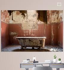 verlassenes bad poster kristof ven ohmyprints in 2020