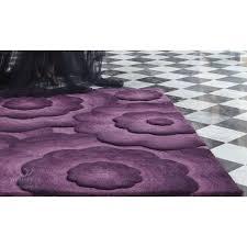 tapis aubergine pas cher fendi aubergine tapis moderne cm 90x150 achat vente tapis