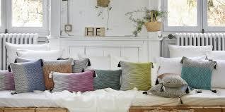 coussins de canapé coussin design notre sélection ultra tendance