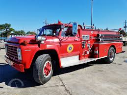 Online Auction For Ford Fire Truck And 2 - Chevy 3500HD Flatbed ...