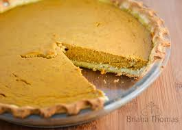 Best Pumpkin Pie With Molasses by Pumpkin Pie Briana Thomas