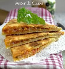 amour de cuisine kesra kabyle farcie aux oignons amour de cuisi