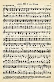 Vintage Love Song Free Sheet Music Digital Page Loves Old Sweet Graphic