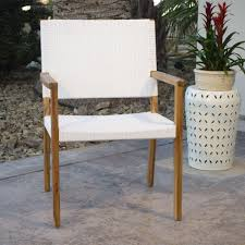 Bining Woven White All Weather Wicker And Acacia Wood Our Design Of ... Annabelle Outdoor Garden Fniture All Weather Wicker Rattan 10 Home Decators Collection Naples Brown Allweather Amazoncom Luckyermore 4pack Patio Chairs Belham Living Bella Ding Chair Set Of 2 Contemporary 150 Cm Teak Table 6 Shop Havenside Hampton Allweather Grey Round Terrain Tangkula 5 Pcs Resistant Coral Coast Brisbane Open Inspired Bistro Saint Tropez Stackable Whitecraft S6501 By Woodard Sommerwind Wickercom