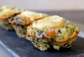 mini quiches ou quiche sans pâte chèvre épinards ma cuisine santé