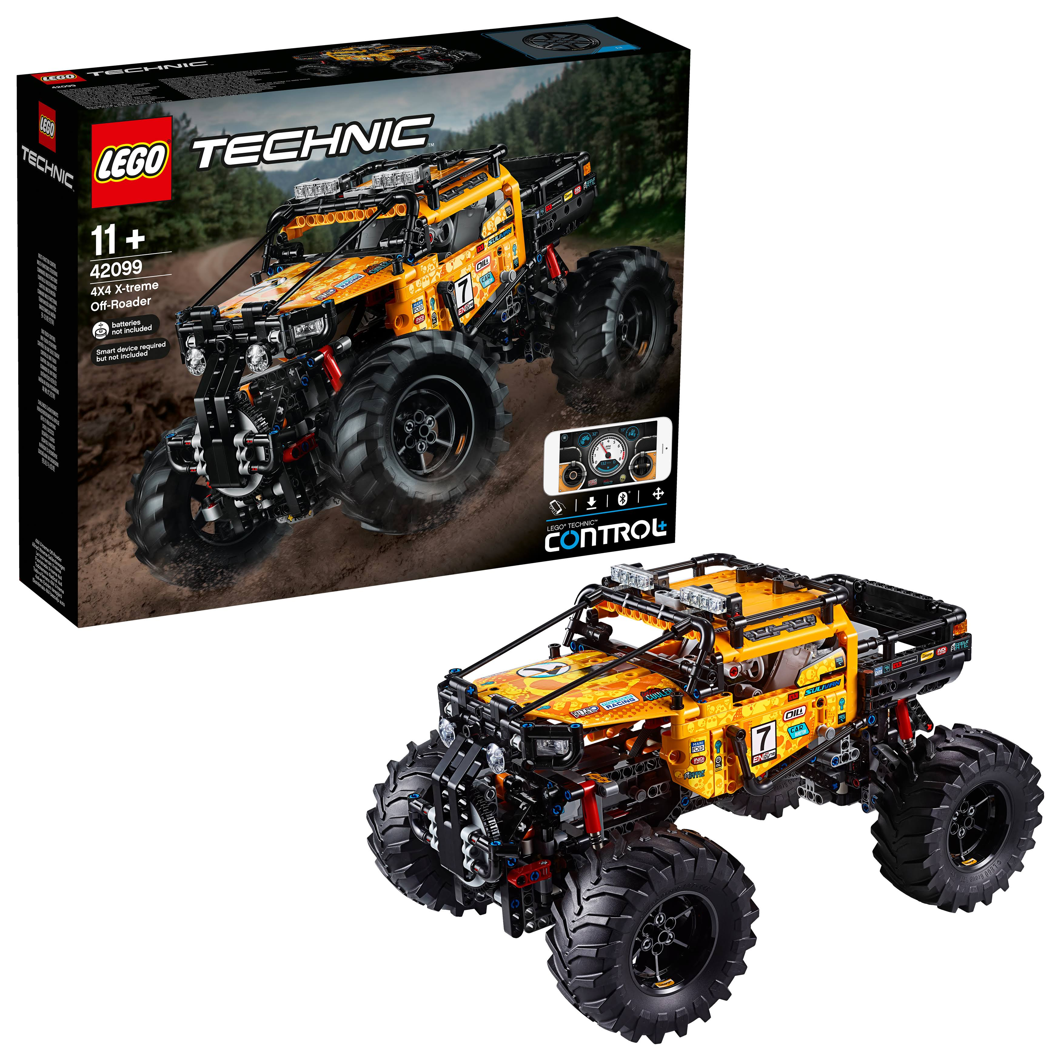 LEego Technic 4X4 X treme Off Roader Toy Truck Building Set